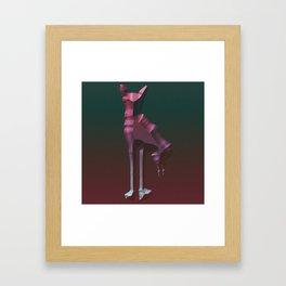 enemy2 Framed Art Print
