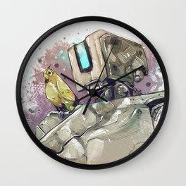doo-do-doo dee Wall Clock