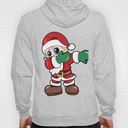 santa dab christmas Nicholas Santa Claus Present Gift Hoody
