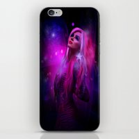 hologram iPhone & iPod Skins featuring Jem and the Hologram by Claudia Digital Graphics