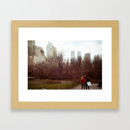 Urban Nature: I Framed Art Print