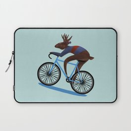'Tis the season to be cycling Laptop Sleeve