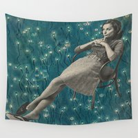 whatever Wall Tapestries featuring Whatever by Imogen Art
