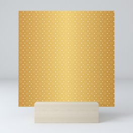 Art Deco Pattern 1 [RADIANT GOLD] Mini Art Print
