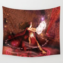 Scarlet Witch Sorceress Supreme Wall Tapestry
