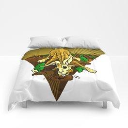 Mutant Zoo - Girabbit Comforters