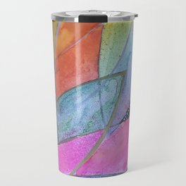 Lotus Dreaming in Pink Travel Mug