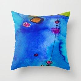 Magical Thinking No. 2C by Kathy Morton Stanion Throw Pillow