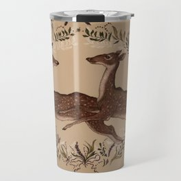 Jumping Deer Travel Mug