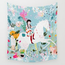 Storybook Horse Wall Tapestry