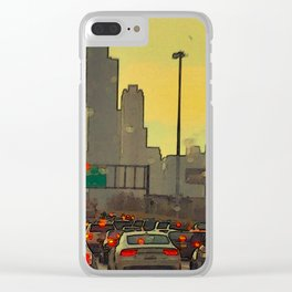 Friday Night Traffic Clear iPhone Case