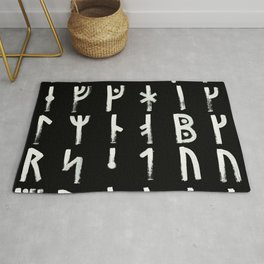 Medieval Runes Collected Inverted Complete Rug