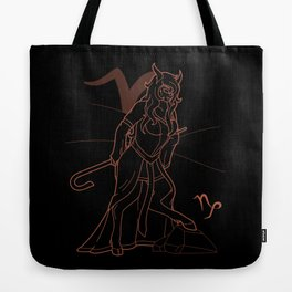 Monstrous Zodiacs: Capricorn, the Glaistig Tote Bag