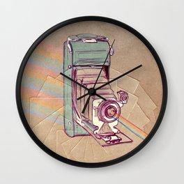 Bellows Wall Clock