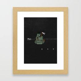 Explore - I Framed Art Print