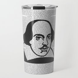 Words of Shakespeare Travel Mug
