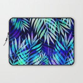Watercolor palm pattern Laptop Sleeve