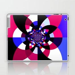Magenta Purple Indigo Kaleidoscope Mandala Laptop & iPad Skin