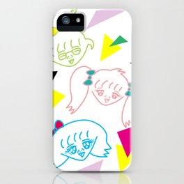 GIRLS 2   Takahashi-chan iPhone Case