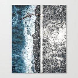 Sea or Mountain by GEN Z Canvas Print