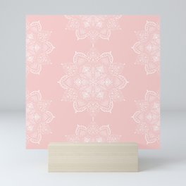 Winter Spirit - Blush Mini Art Print