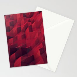 Low-Poly Scape Stationery Cards