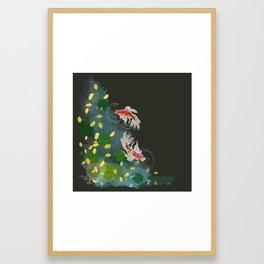 Ginkgo Pond Framed Art Print