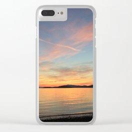 Ocean Calm VII Clear iPhone Case