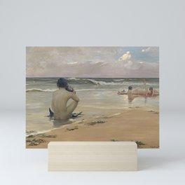 Rupert Bunny - Sea idyll, 1891 Mini Art Print