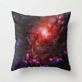 Monster of Messier 83 Throw Pillow