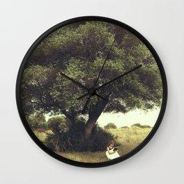 Under the tree Wall Clock