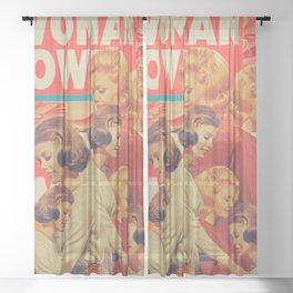 Woman Power Sheer Curtain