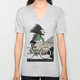 Alleycat Races Unisex V-Neck