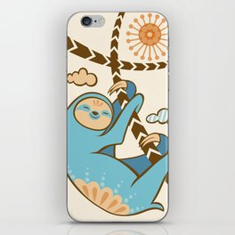 Just Hang In There iPhone Skin