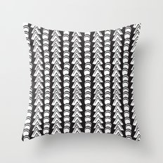 To The Moon//Two Throw Pillow