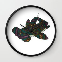 Dia De Los Shark: Hammerhead Wall Clock