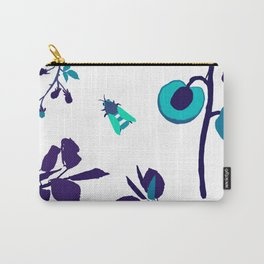Blue Bee  Carry-All Pouch