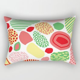 Confused Mosaic in Spring Rectangular Pillow
