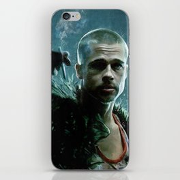 Tyler Durden Explains Project Mayhem - Fight iPhone Skin