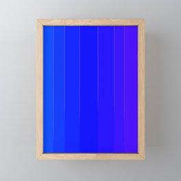 Variety Blue Framed Mini Art Print