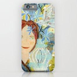 Patti's Flowers iPhone Case