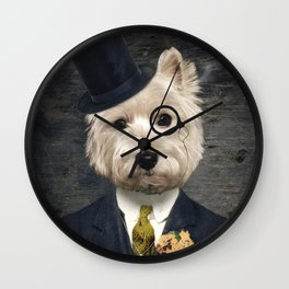Sir Bunty Wall Clock