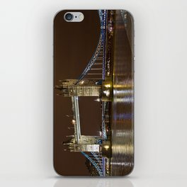 Tower Bridge at Night iPhone Skin
