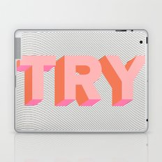 TRY Laptop & iPad Skin