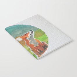 Rounded fox Notebook