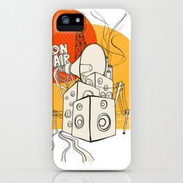 Radio Satla iPhone Case
