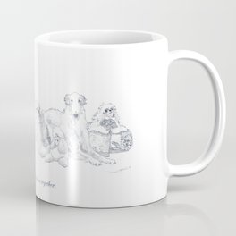 Always stay close together! - Union of fellow dogs Coffee Mug