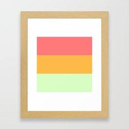 Melon Trio #2 Framed Art Print
