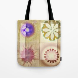 Gleeted Substance Flower  ID:16165-082307-33861 Tote Bag