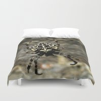 spider Duvet Covers featuring Spider by moo2me